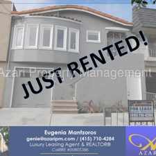 Rental info for AZARI PM - Cute, Beautifully Updated 2 BR/1 BA Home w/Pkg & Yard in the Outer Mission area