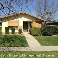Rental info for 3024 W. Pontiac Way # 104 in the Fresno area