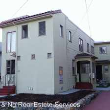 Rental info for 1715 63rd St. Unit A in the Oakland area