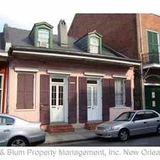 Rental info for 822 Bourbon St. in the Treme - Lafitte area