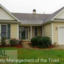 Rental info for 1615 Beeson Park Lane in the Kernersville area