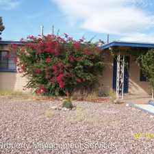 Rental info for 4637 E. TIMROD
