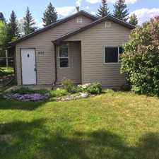 Rental info for whole house is available $850 per month in Vulcan AB