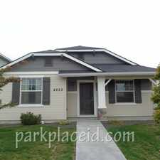 Rental info for 4822 S Chex Way in the Boise City area