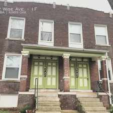 Rental info for 4922 Wise Ave. in the St. Louis area