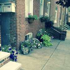 Rental info for 511 South Wolfe Street in the Baltimore area