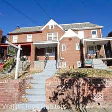 Rental info for 115 Madison ST NW in the Washington D.C. area