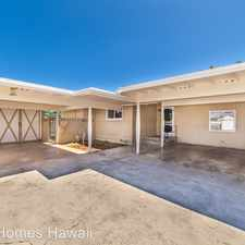 Rental info for 165 A Ulupa St