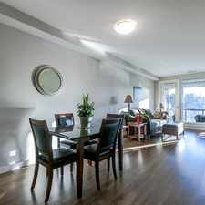 Rental info for SPACIOUS 1 Bed & Den Plus 1 Bath Furnished Condo
