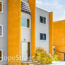 Rental info for 3506 44 Street SW - 2 Bedroom Apartment for Rent in the Glenbrook area