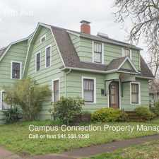 Rental info for 2041 E 17th Ave in the Eugene area