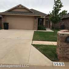 Rental info for 3509 Green Apple in the 73160 area