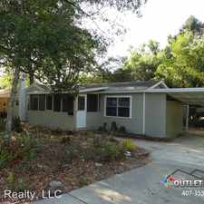 Rental info for 320 Alpine Drive in the 32789 area