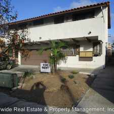 Rental info for 4475 50th St. #7 in the San Diego area