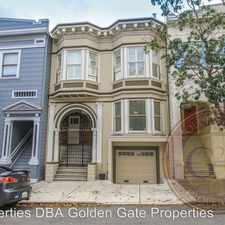 Rental info for 29 Ford Street in the Castro area