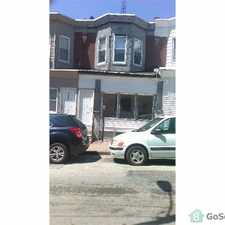 Rental info for Nicely remodeled 2 BR row house in the Harrowgate section of Philadelphia. Large LR/DR area. New paint. carpet, Plumbing, Heat. Large eat in kitchen . 3 bedrooms upstairs with lots of closet space. Remodeled full bath with new vanity, toilet & tub. in the Juniata Park - Feltonville area