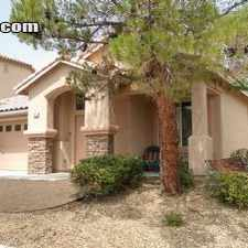 Rental info for $3800 3 bedroom House in Summerlin in the Las Vegas area