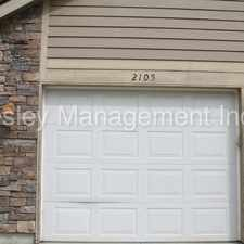 Rental info for Close to High School- 3bdrm Townhome