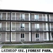 Rental info for 1143 Lathrop # 10 in the Chicago area