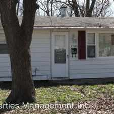 Rental info for 2712 S. St. James in the 47714 area