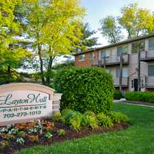 Rental info for Layton Hall Apartments in the Fairfax area