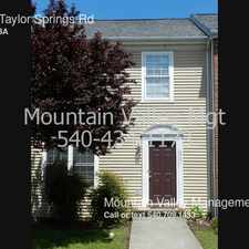 Rental info for 2901 Taylor Springs Rd