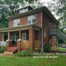 Rental info for 117 Courtney Ave NE Unit B in the Roanoke area