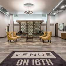 Rental info for Venue on 16th