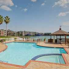 Rental info for Lakeside at Campeche in the Galveston area