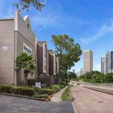 Rental info for Bayou Park in the Houston area