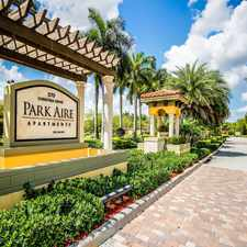 Rental info for Park Aire Apartments