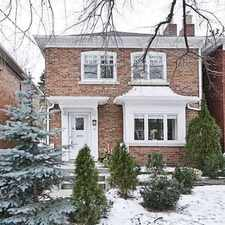 Rental info for 301 Old Orchard Grove in the Lawrence Park North area