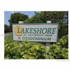 Rental info for 8740 Sherman Circle North #207 in the Pembroke Pines area