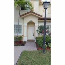 Rental info for 8348 Southwest 25th Court #102 in the Pembroke Pines area