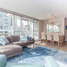 Rental info for Marinaside Crescent & Boathouse Mews