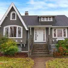 Rental info for W 13th Ave & Camosun St