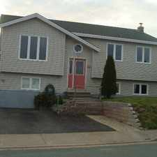 Rental info for For Rent 3 Bedroom plus a Rec Room (East End) in the St. John's area