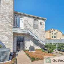 Rental info for Private gated community near freeway in the Houston area