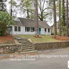 Rental info for 20 Golf Circle in the Ansley Park area