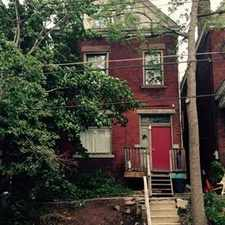 Rental info for 539 South Graham Street #2 in the Pittsburgh area