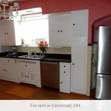 Rental info for Cincinnati, Prime Location 4 Bedroom, House in the Bond Hill area