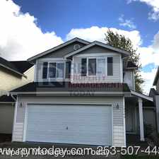 Rental info for 10504 198th St Ct E