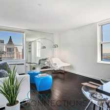 Rental info for CORNER UNIT w/ CITY AND WATER VIEWS in Incredible LUXURY Building in FiDi!!!