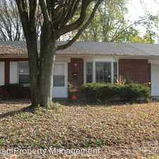 Rental info for 4007 DOWNES DR in the Indianapolis area