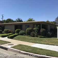 Rental info for 3901 Rose Avenue
