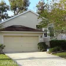Rental info for 11922 Arbor Lake Dr in the Jacksonville area