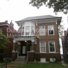 Rental info for Huge three bedroom near Washington University and shopping in the West End area