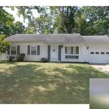 Rental info for House For Rent In Zanesville.