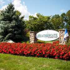 Rental info for HeatherGate at Oxford Valley