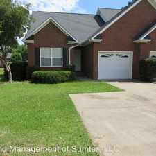 Rental info for 3503 Horizon Drive in the Sumter area